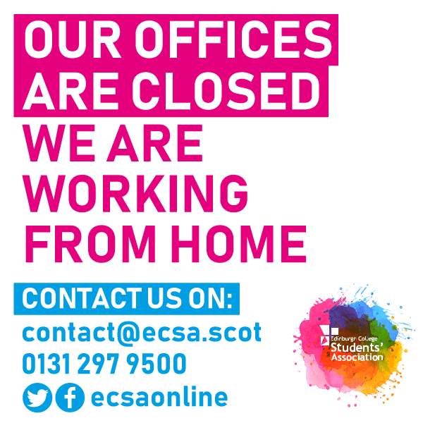 ECSA's Offices are now closed until Monday 20th April - contact us on our usual methods