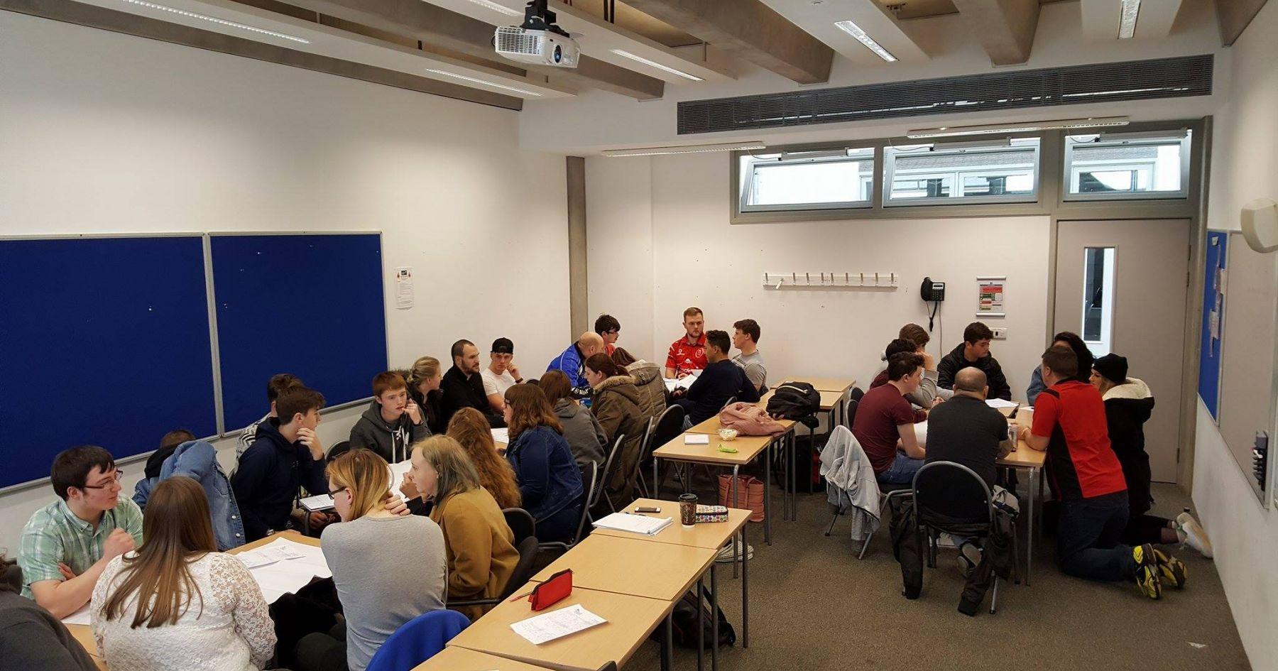 Class reps conference Granton