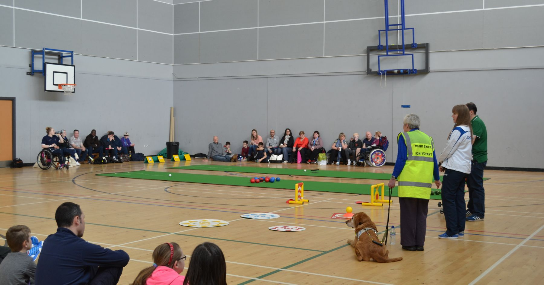 Scottish Disability Sport's last visual impairment sports day