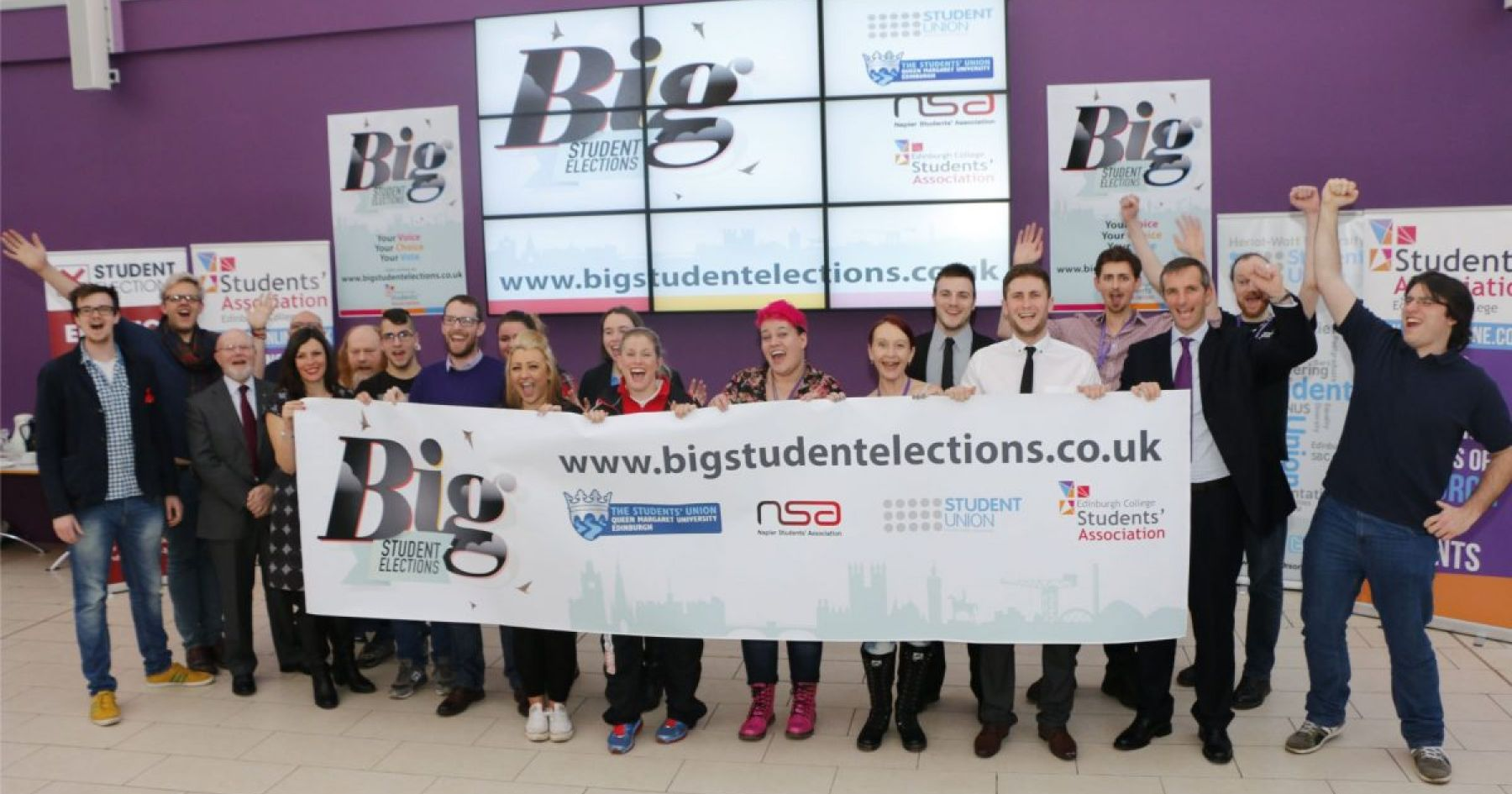 Launch of the Big Student Elections